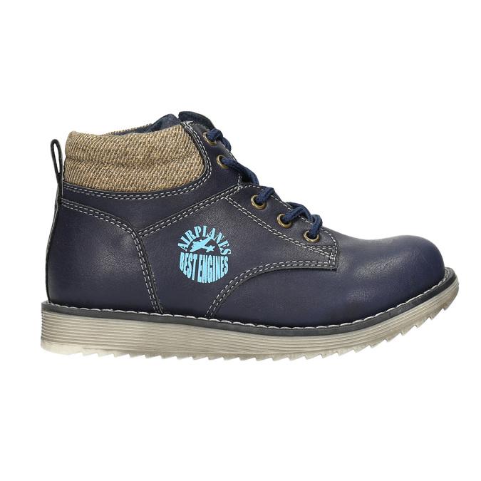 Boys' ankle boots bubblegummer, blue , 211-9623 - 15