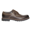 Men's leather shoes bata, brown , 826-4619 - 15