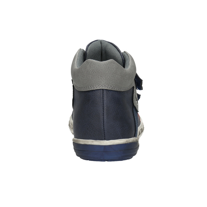 Children's ankle boots mini-b, blue , 211-9624 - 17