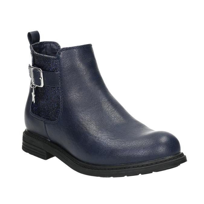 Children's blue Chelsea boots mini-b, blue , 321-9613 - 13