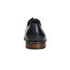 Casual leather shoes blue bata, blue , 826-9681 - 17