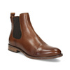 Brown leather Chelsea boots bata, brown , 594-4636 - 13
