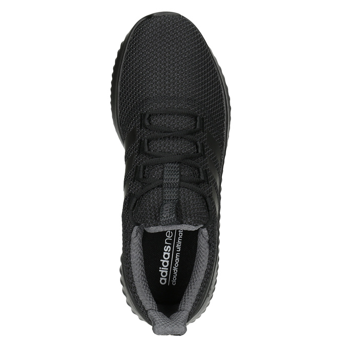 Men's Black Sneakers adidas, black , 809-6204 - 15