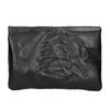 Ladies' Leather Crossbody Handbag a-s-98, black , 964-6044 - 26