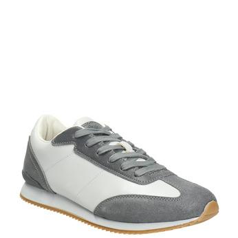 Men's Casual Sneakers, gray , 801-2180 - 13