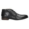 Men's leather ankle boots bata, black , 824-6913 - 15
