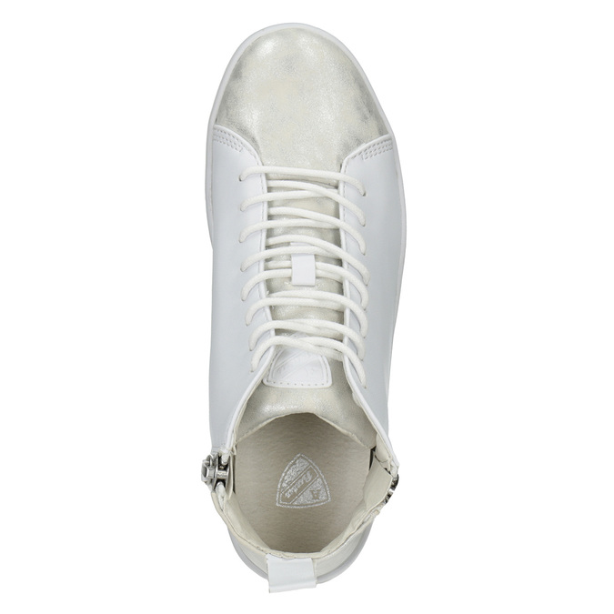 White High-Top Sneakers, white , 501-1172 - 15
