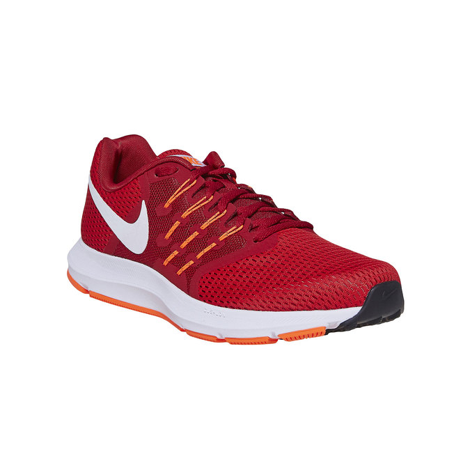 Men's red sneakers nike, red , 809-5120 - 13