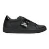Ladies' Black Sneakers, black , 501-6171 - 26