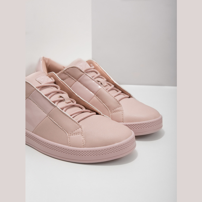 Ladies' Pink Sneakers, red , 501-5171 - 14