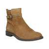Ladies' leather high boots vagabond, brown , 523-4011 - 13