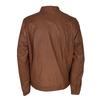 Men's Leather Jacket bata, multicolor, 974-0154 - 26