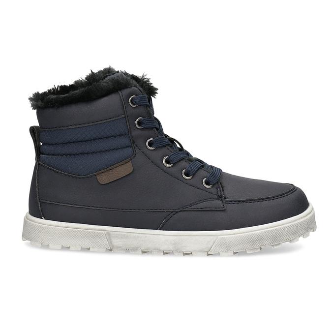 Children's Insulated Winter Boots mini-b, blue , 491-9652 - 19