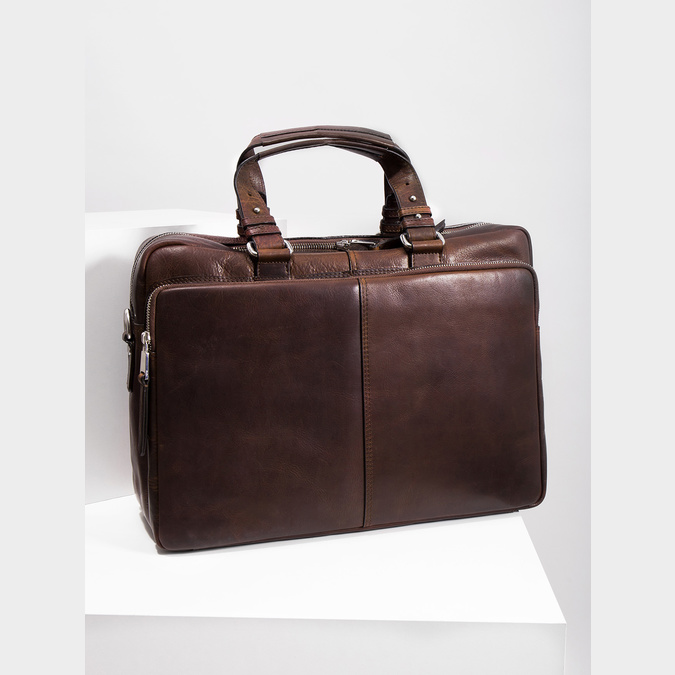 The Seymur Briefcase Bag, brown , 964-4106 - 18
