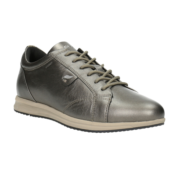 Ladies' Leather Sneakers geox, brown , 526-8090 - 13