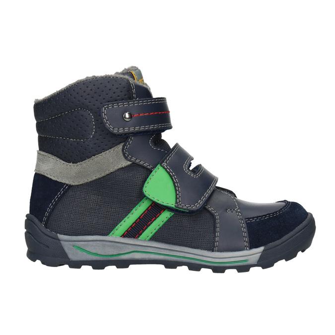Children's Winter Ankle Boots mini-b, blue , 291-9627 - 26