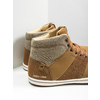 Men's high-top sneakers north-star, brown , 841-3608 - 14