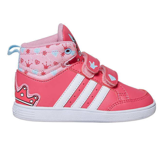 Girls' ankle sneakers adidas, pink , 101-5292 - 15