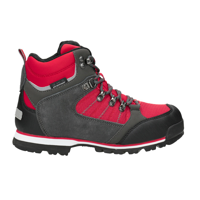 Children's Outdoor-style winter boots, red , 399-5016 - 26