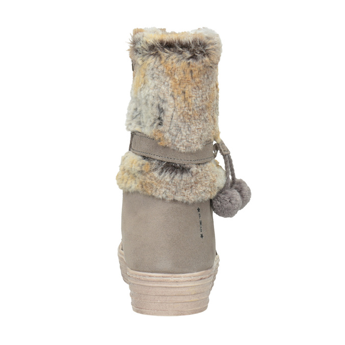 Children's winter boots with fur primigi, beige , 393-8015 - 16