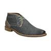 Men's leather ankle boots bata, blue , 826-9920 - 13