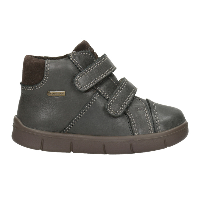 Children's leather ankle boots, brown , 114-4028 - 26