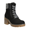 Ankle Boots with Chunky Heel bata, black , 699-6633 - 13