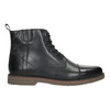 Insulated Leather Ankle Boots bata, black , 896-6662 - 15