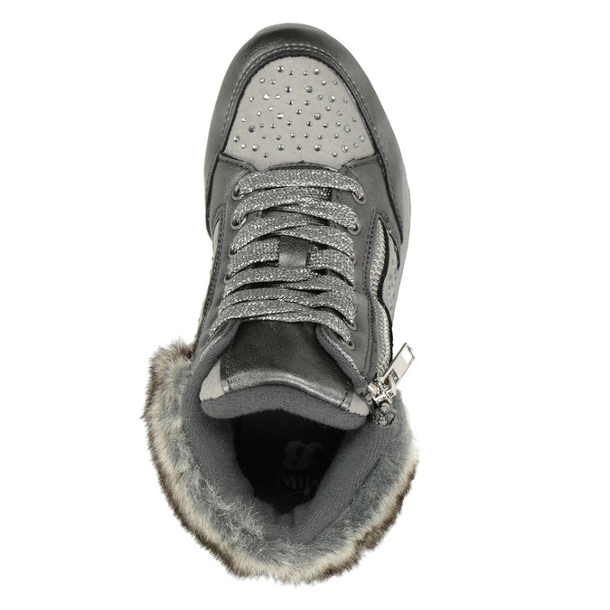 Childrens shoes mini-b, gray , 329-2287 - 15