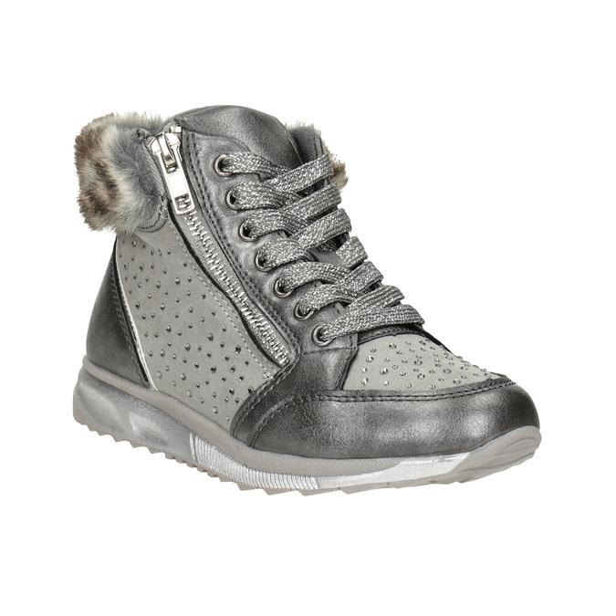 Childrens shoes mini-b, gray , 329-2287 - 13