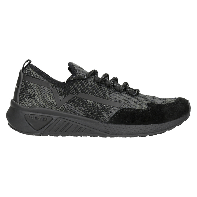 Ladies' sporty sneakers diesel, black , 509-6760 - 16