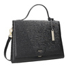 Black Leather Handbag picard, black , 966-6050 - 13