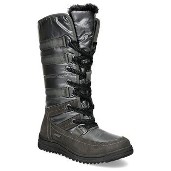 Ladies' winter snow boots bata, gray , 599-2619 - 13