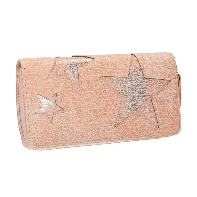 Pink Wallet with Stars bata, pink , 941-5154 - 13