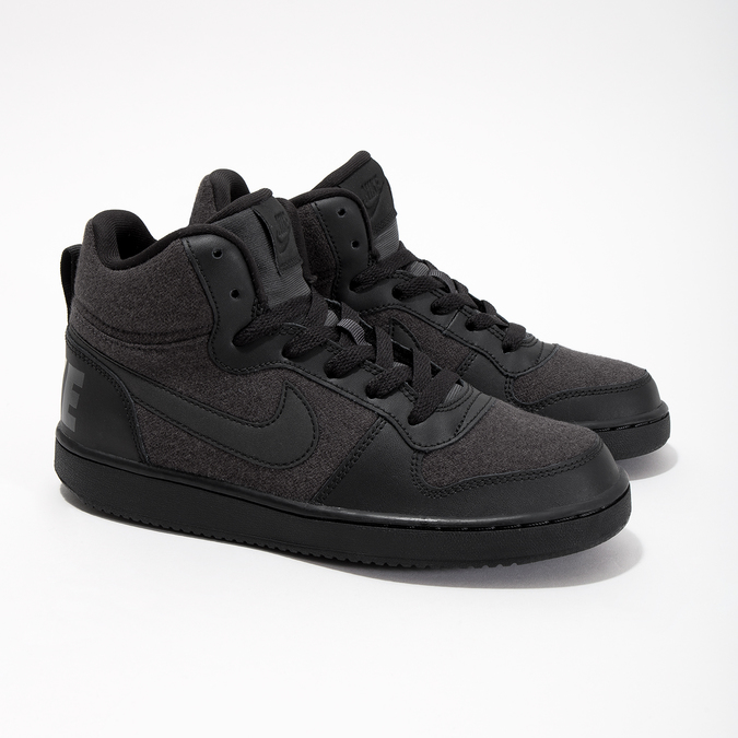 Children's High-Top Sneakers nike, gray , 401-2405 - 26