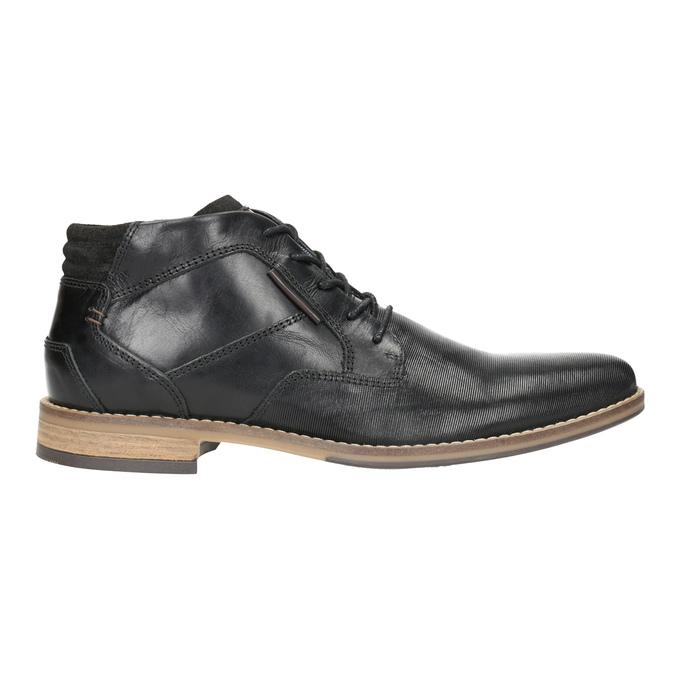 Men's ankle boots bata, black , 826-6926 - 26