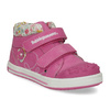 Pink leather ankle boots with Velcro bubblegummer, 121-5618 - 13