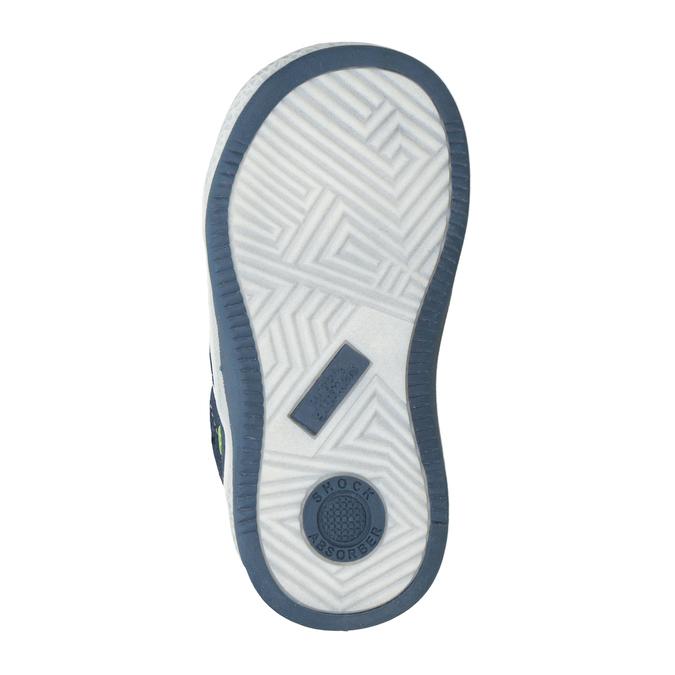 Kids' leather ankle boots bubblegummer, blue , 113-9603 - 17