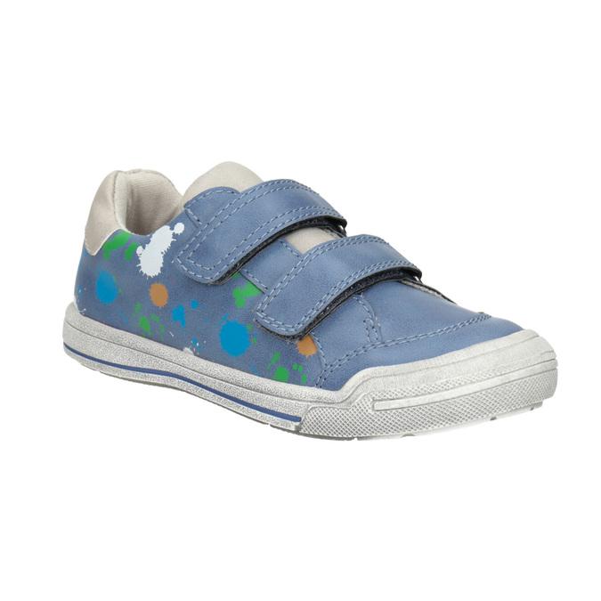 Blue sneakers with print mini-b, 211-9218 - 13