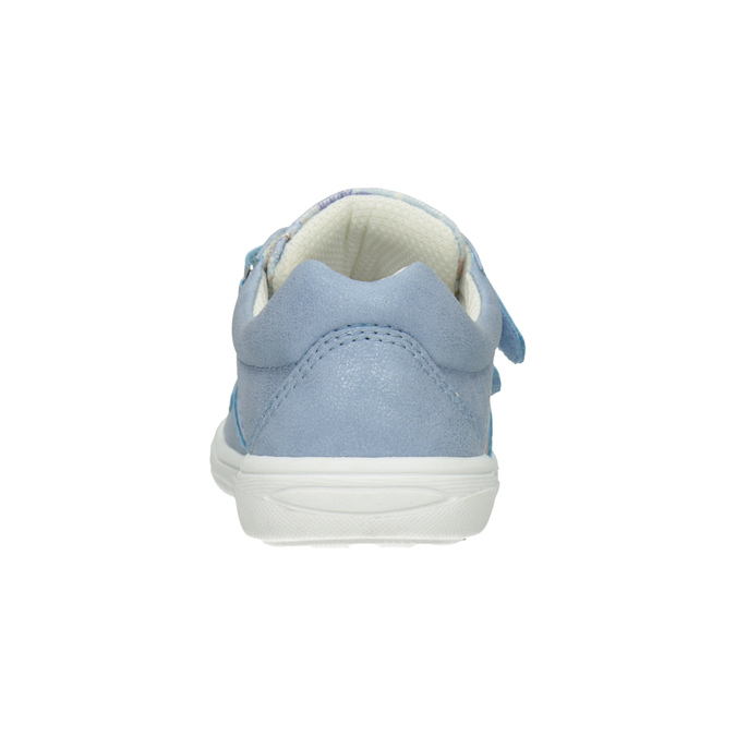 Kids' blue sneakers with a pattern mini-b, 221-9215 - 16