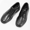 Men's shoes with a distinctive sole, black , 824-6540 - 16