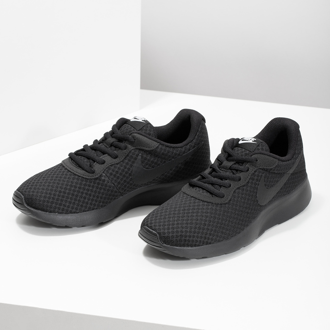 Ladies' black sneakers, black , 509-0157 - 16