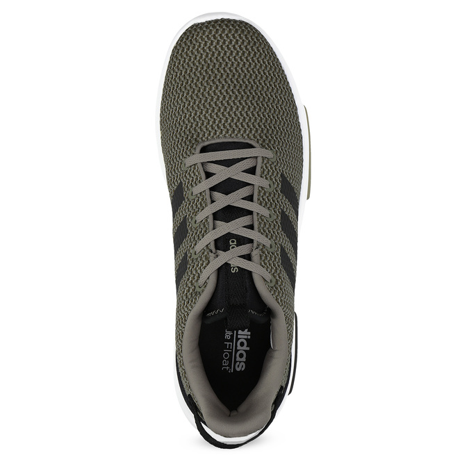 Sneakers in a sport design adidas, khaki, 809-7201 - 17
