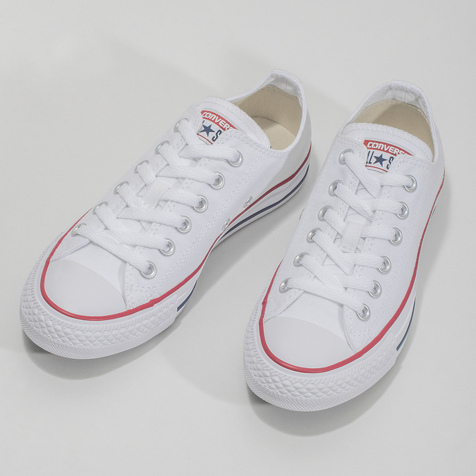 Ladies' tennis shoes converse, white , 589-1279 - 16