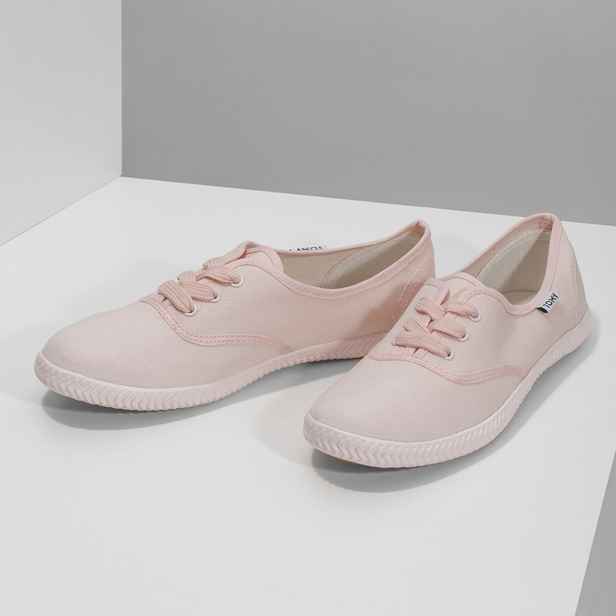 Ladies' pink sneakers tomy-takkies, pink , 589-5180 - 16